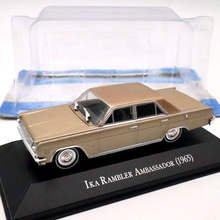 IXO Altaya 1:43 IKA Rambler Ambassador 1965 Diecast Models Limited Edition Toys Car Collection(China)