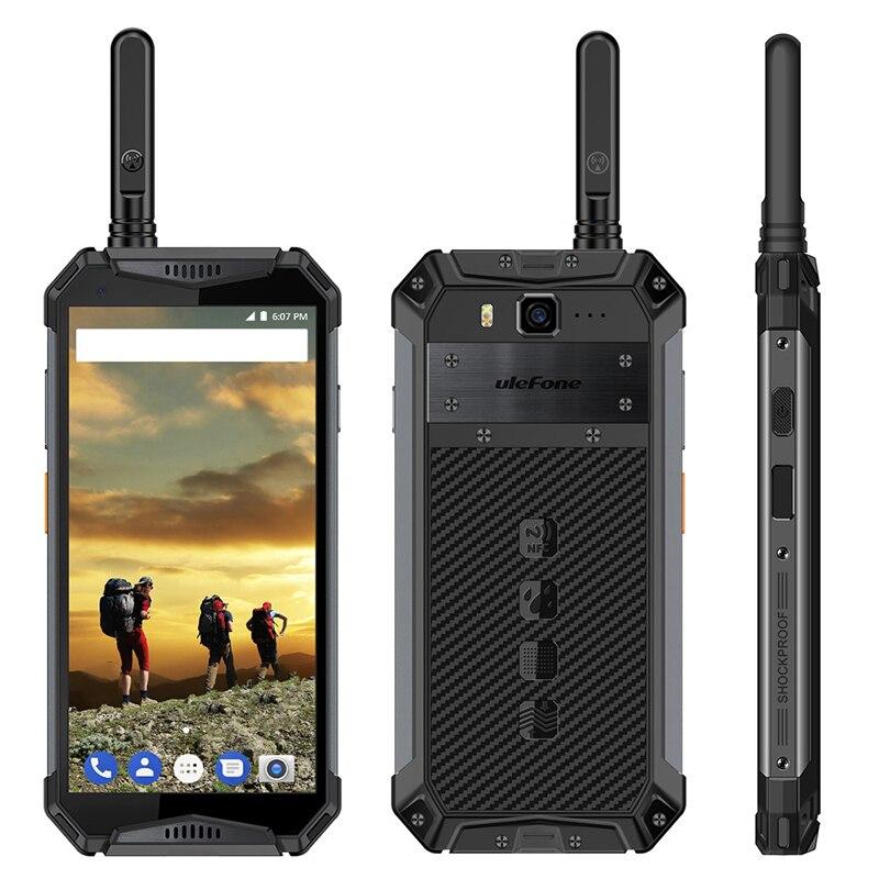 Ulefone originais Armadura 3 T Polegada 4 Smartphone 5.7G Android 8.1 2.5 GHz 64 4 GB de RAM GB ROM 21MP Câmera Traseira 10300 mAh Móvel Celular