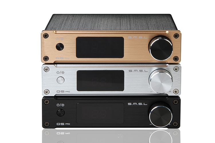 SMSL Q5 Pro High Quality HiFi 2.0 Pure Digital Home Audio Amplifier Optical/Coaxial/USB/ input support 24bit/96kHz USB DAC