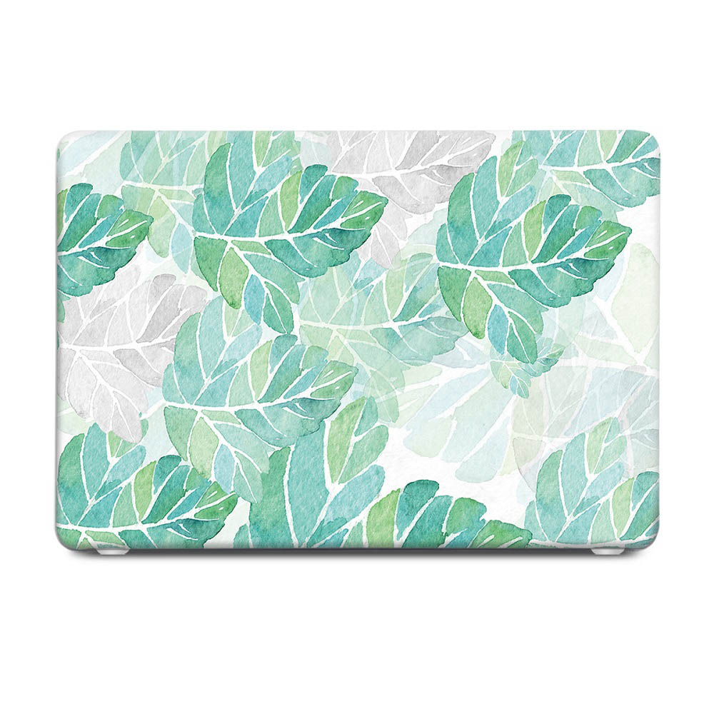 Tropical Fern Leaves Floral Case Cover For Macbook Pro Air Retina 11 12 13 15
