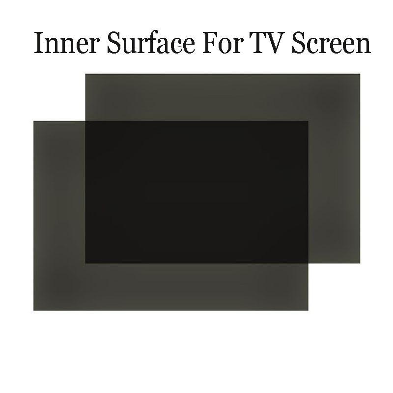 1 Stück Neue 32 Zoll 90 Grad 715mm * 410mm 16:10 Lcd Polarisator Film Blätter Für Tv Lcd Led Ips Bildschirm Für Tv Top Wassermelonen