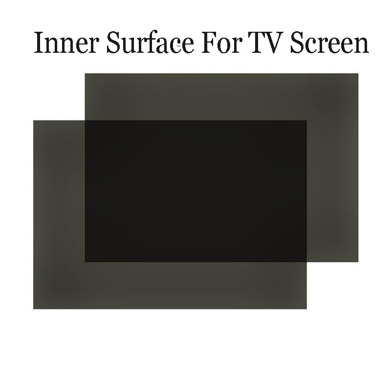 1PC New 32inch 90 Degree 715MM*410MM 16:10 LCD Polarizer Film Sheets For TV LCD LED IPS Screen For TV