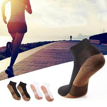 1 Pair New Copper Fiber Pure Cotton Sports Magic Socks Breathable Sweat Absorption Running Unisex Support Wholesale