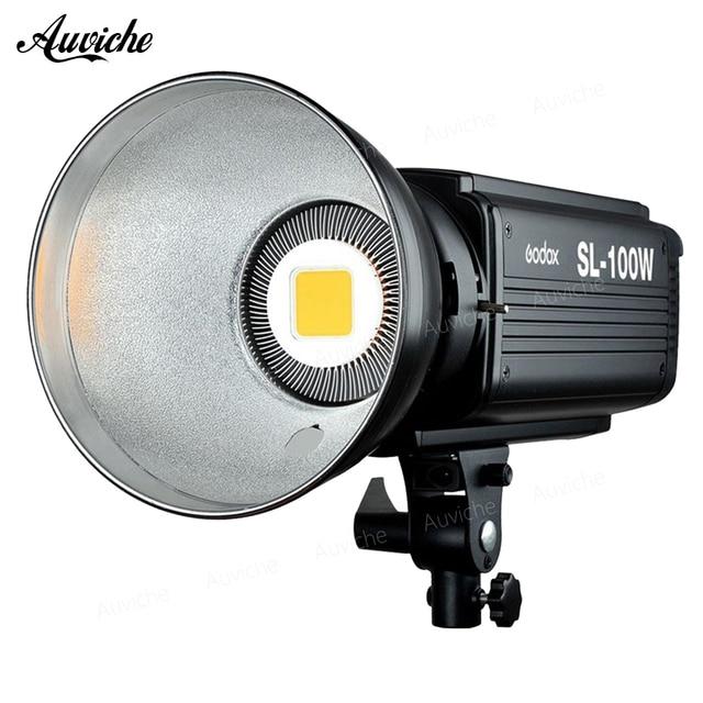 Godox SL-100W 5600K Studio LED Video Light Fill light Photo LED Light Bowens Mount White light Version for Studio Video
