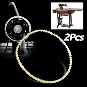 2 шт. домашний швейный станок мотор зубчатый привод V ремни нейлон Высокое качество швейная машина ремни 32,5 см/34 см/35,5 см