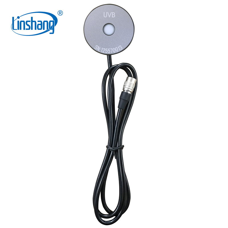 Linshang detachable sensor UVB Probe of LS125 UV intensity meter test UVB light source that peak