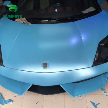 Car Styling Wrap Electro-optic Sky blue Car Vinyl film Body Sticker Car sticker With Air Free Bubble For Motorcycle Car Tuning