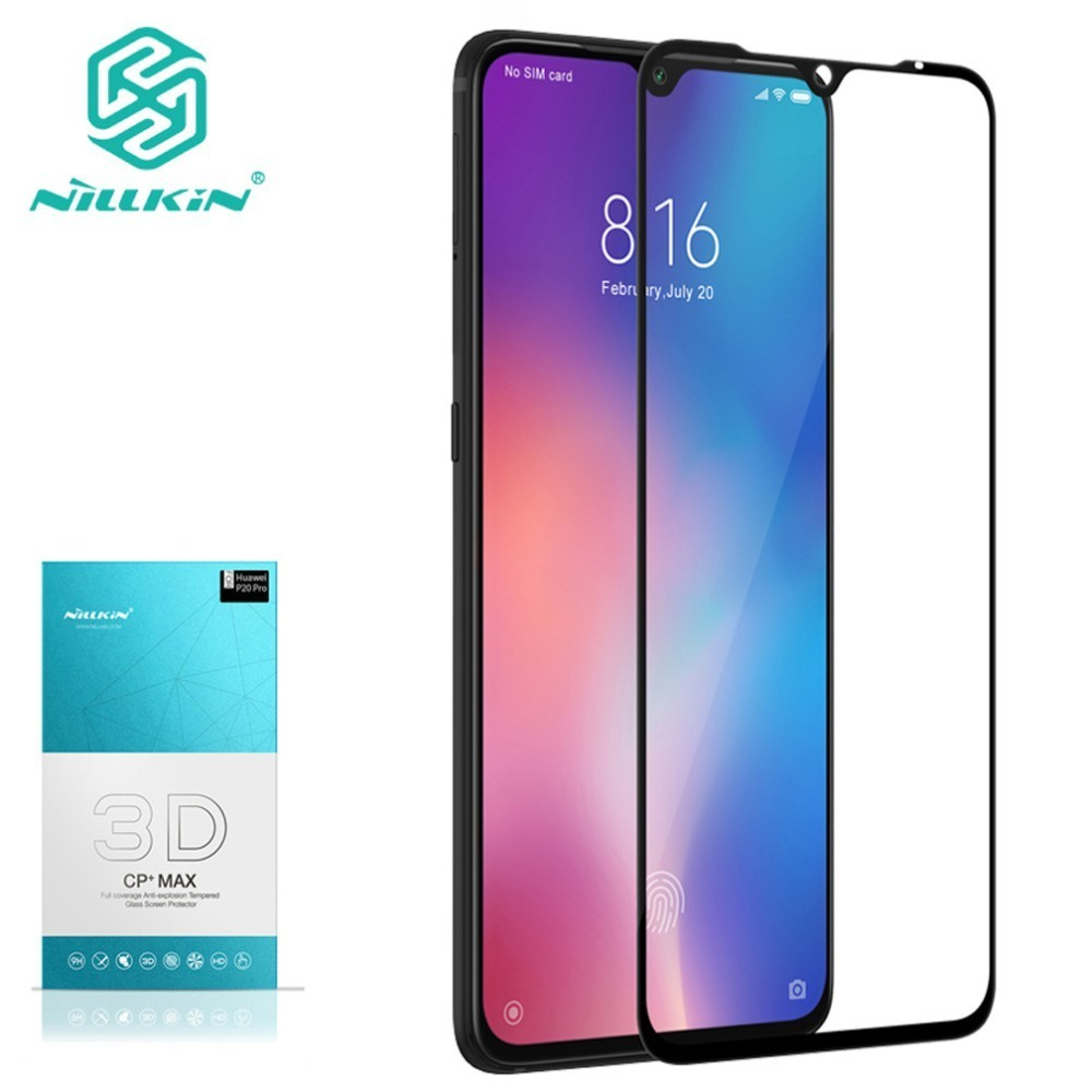 For Xiaomi Mi 9 Tempered Glass For Xiaomi Mi 9 explorer 3D Glass Nillkin CP+ Max Full Cover Screen Protector