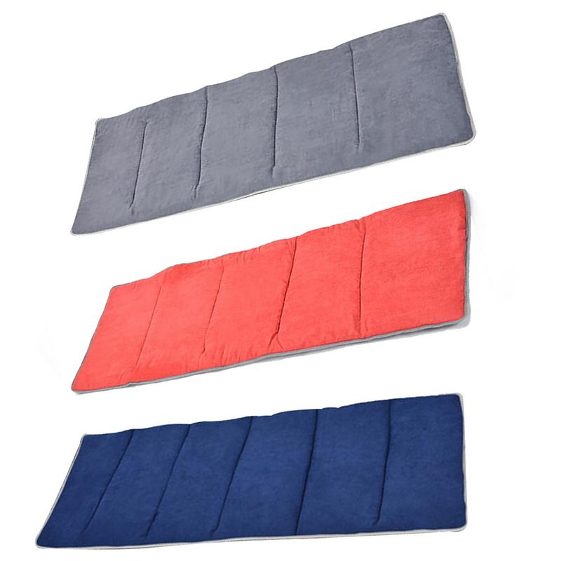 Outdoor Camping Portable Folding Sleeping Pad Comfortable Cotton Pad Mattress Folding Bed Camping Mattress Office Nap Bed in Camping Mat from Sports Entertainment