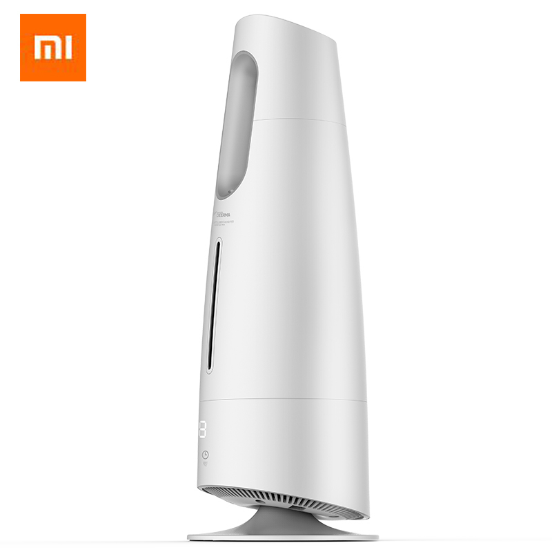 Xiaomi Home DEERMA Air Humidifier Mist Maker Touch Screen 4L Oil Diffuser Air Purifying Air Conditioned