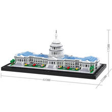 hot LegoINGlys creators city Street view US Washington House of Parliament micro Diamond Building Blocks model bricks toys gift legoinglys city creators street view australia sydney opera house micro diamond building blocks model nano bricks toys for gifts