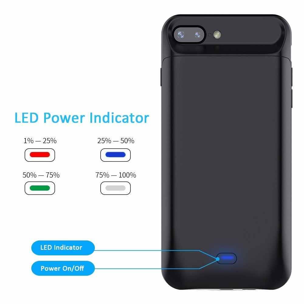 Gagaking 5000 mAh 7200 mAh Sạc pin Dành Cho iPhone 6/6 S/6 P/6SP/ 7/7 P/8/8 P Power Bank Case Bên Ngoài Pin Sạc