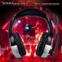 Headset Adjustable Headband Wired Headphone for ONIKUMA K5Pro for PS4 Gaming Headset Stereo Game Headphones