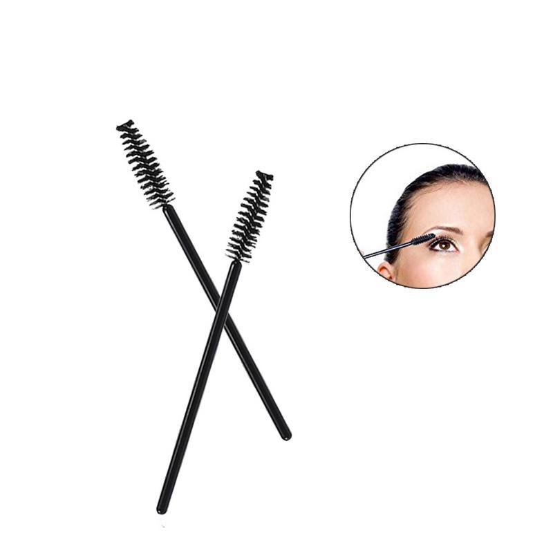 100Pcs Eyelash Brushes Makeup Brushes Disposable Mascara Wands Applicator Spoolers Eye Lashes Cosmetic Brush Makeup Tools 40 2