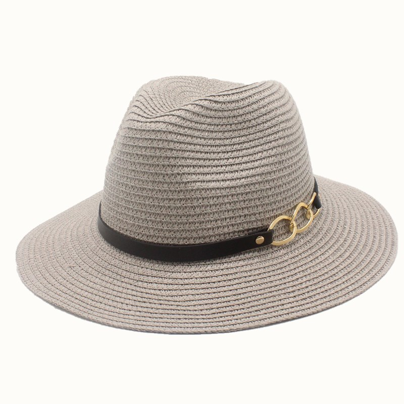 Earl Stereoscopic Pearl Summer Hat Stitching Color Beach Holiday Straw Sun Hats For Women Summer Style Hat 2019