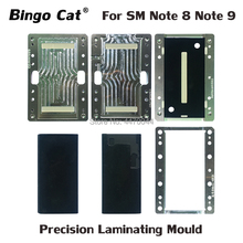 For Samsung Galaxy Note 9 8 N960 N950 LCD Screen Laminating Mold LCD Glass Oca Alignment Mould unbent flex cable Curved Display high precision metal mold mould for samsung s6 edge g9250 lcd screen laminating and positioning alignment