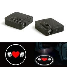 Wireless Love Cartoon Cute cartoon Courtesy Car Logo Door Ghost Shadow Laser Projector Light 12V