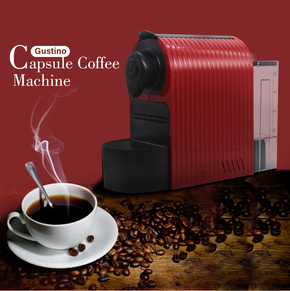 Gustino Capsule Coffee Machine Household Office CoffeemakerGustino Capsule Coffee Machine Household Office Coffeemaker