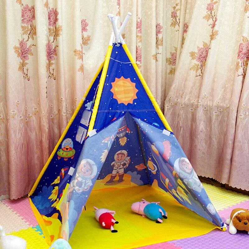 Imperméable à l'eau enfants intérieur extérieur surdimensionné impression jouet tentes maison tente enfants jouet tente jouer maison jouet tente Playhouse