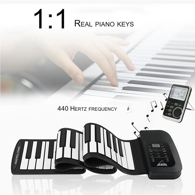 HOT 61 Key Roll Up Piano Electronic Training Tool Professional Musical Instrument 900x215x25mm HOT 61 Key Roll Up Piano Electronic Training Tool Professional Musical Instrument 900x215x25mm