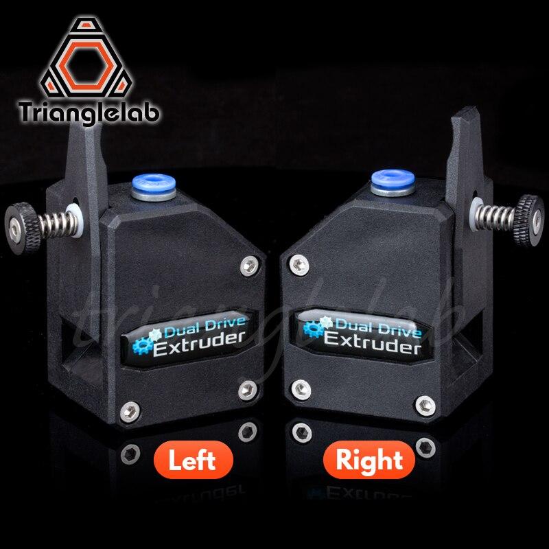 Trianglelab espejo izquierdo extrusor BMG Cloned Btech Bowden extrusor de doble unidad para impresora 3d para impresora 3D MK8