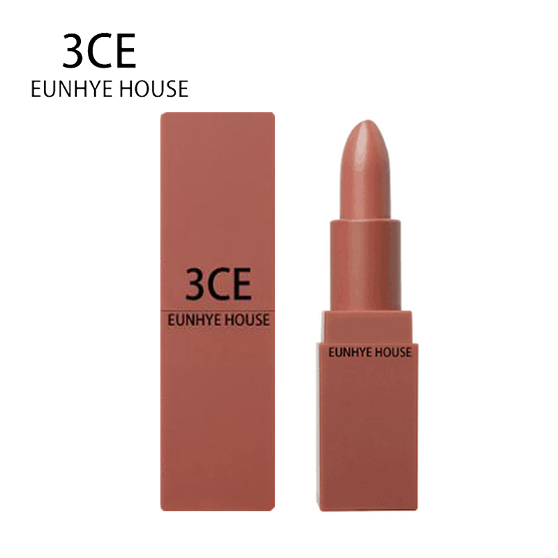 3CE EUNHYE HOUSE Brand Lip Makeup lipstick Long-lasting Waterproof Natural Easy to wear Lipstick matte Non-stick Make-up