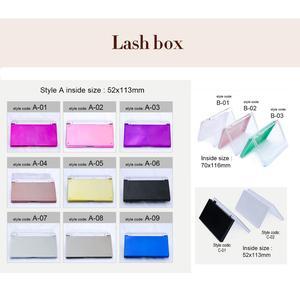 Image 3 - 200 Cases Private label personal logo name eyelash extension ODM OEM random size customize lash extension with custom brand name