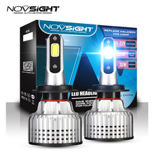 NOVSIGHT Car Headlight H4 H7 LED Hi/Lo Beam Light Bulbs For Cars 72W 10000LM 6500K H1 H3 H11 H13 9005 9006 9007 Auto Headlamp(China)