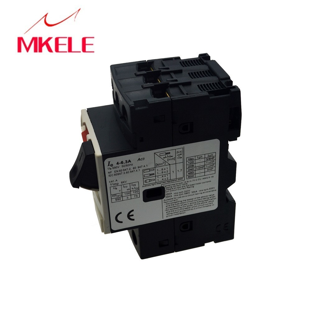 Electric motor contactor GV2 ME10 4 6 3A motor protector circuit breaker motor starter circuit breaker with the lowest price in Circuit Breakers from Home Improvement