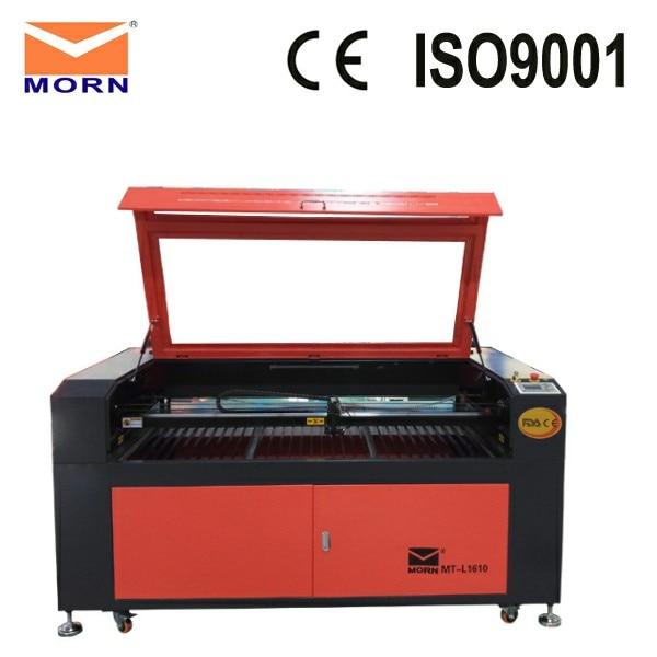 MORN 1610 Agent recherché qualité or 1610 CNC tôle laser machine de découpe co2 laser graveur