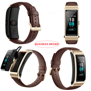 Image 5 - Huawei TalkBand B5 Talk Band Smart Bracelet Wearable Sports Bluetooth Wristbands Touch AMOLED Screen Call Earphone Band