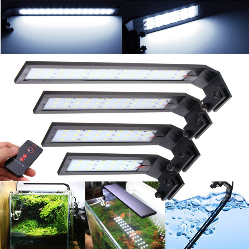 Chihiros Super-thin Led Aquarium Light 7/10/14/18W IP67 Waterproof For Aquarium Plant Aluminum Fish Tank Plant Grow LED Lighting