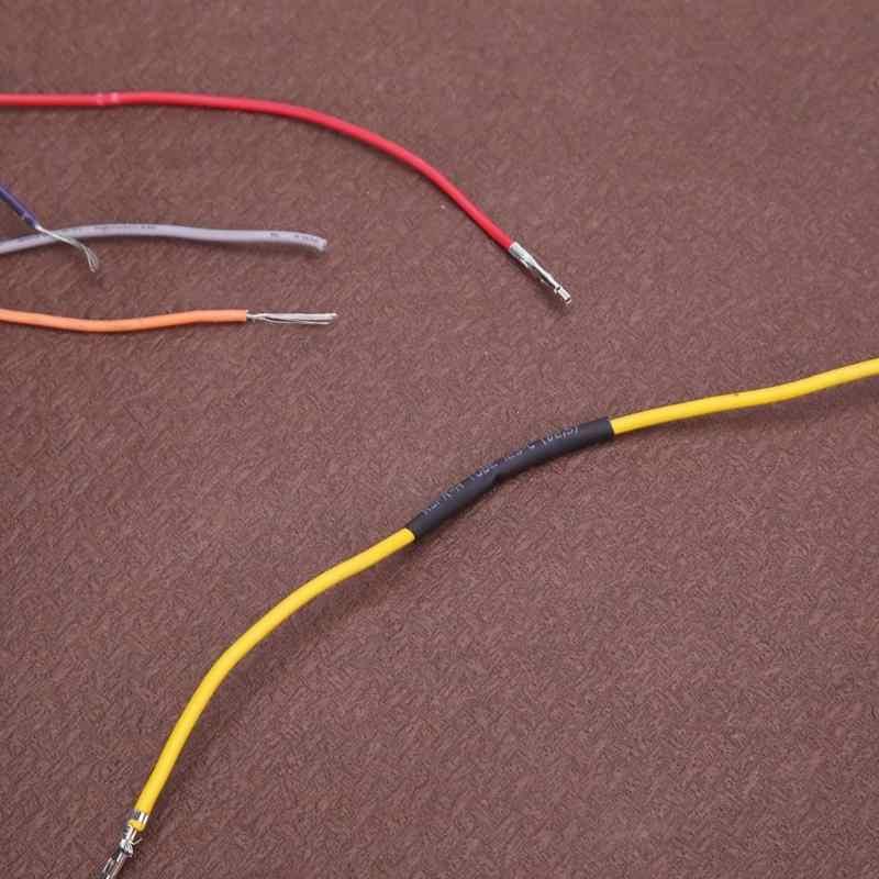 127 adet/takım 40/80mm ısı Shrink boru poliolefin 2:1 kablo tüp Sleeving kiti Wrap tel isı büzülme boru seti kablo kılıfı