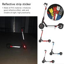 Electric Scooter Parts High Quality Reflective Styling Stickers For Xiaomi Mijia M365 Skateboard Accessories