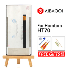 AiBaoQi חדש מקורי 6.0 אינץ מגע מסך + 1440x720 LCD תצוגת החלפת עצרת Homtom HT70 אנדרואיד 7.0 טלפון