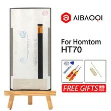 AiBaoQi новый оригинальный 6,0 дюймовый сенсорный экран + 1440x720 ЖК дисплей в сборе Замена для телефона Homtom HT70 Android 7,0