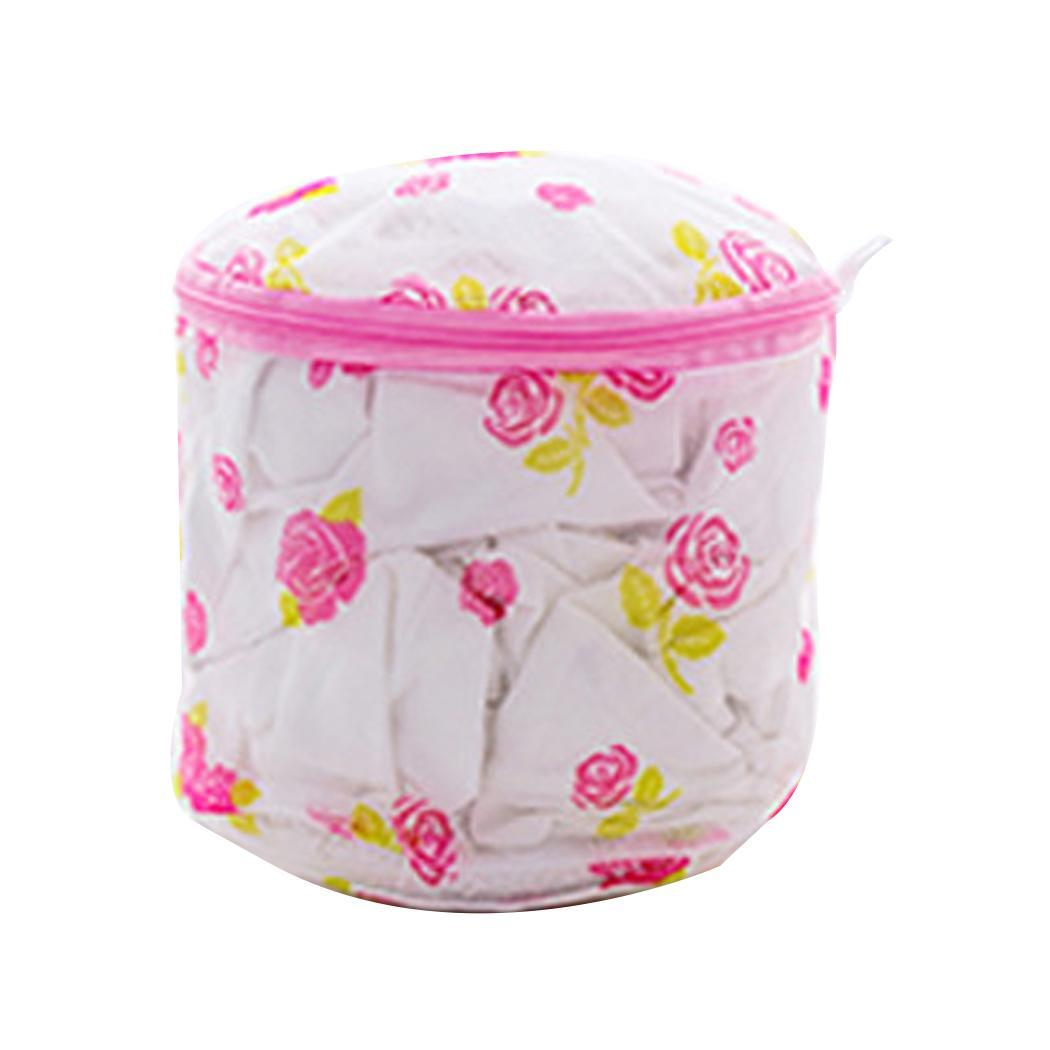 Bra Protective Washing Bag Printed Folding Cylinder 29g Laundry Solid, Home Bag Underwear Modern Storage Bag