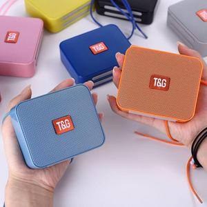 Image 5 - Portable Mini Speaker Innovative Square Wireless Bluetooth Card TG166 Support Micro TF Card Player Stereo Hd Bass Sounds Devices
