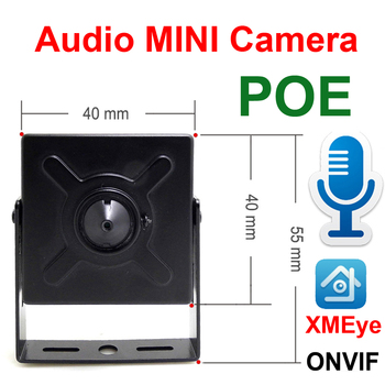 Audio Mini Ip Camera 720P 960P 1080P Hd POE Cctv Security Video Surveillance 2MP Indoor Home Surveillance Onvif Network Ipcam kingkonghome poe ip camera 1080p 960p 720p onvif network security camera night vision surveillance motion detection bullet ipcam