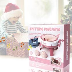 Smart Weaver Knitting Kit Machine For Kids New Oversized 48 Hand Shake DIY Wool Knitting Machine Hat Knitting Machine Girl House