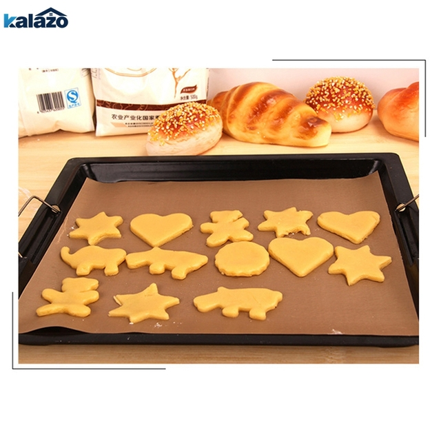 Baking Mat High Temperature Resistant Teflon Sheet Pastry Baking Oilpaper Heat-resistant Pad Non-stick For Outdoor Bbq