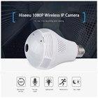 Hiseeu 960P/3MP Wireless Fisheye IP Camera 360 Degrees Panoramic WiFi IP Camera Home Security CCTV Motion Detection Webcam