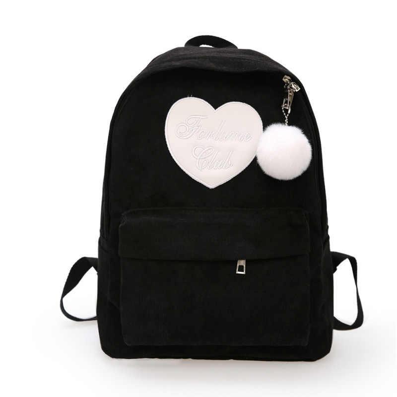 2019 женский высокое качество холст путешествия рюкзак женский мочила Feminina Sac Dos Back Pack школьные ранцы для подростков женский рюкзак