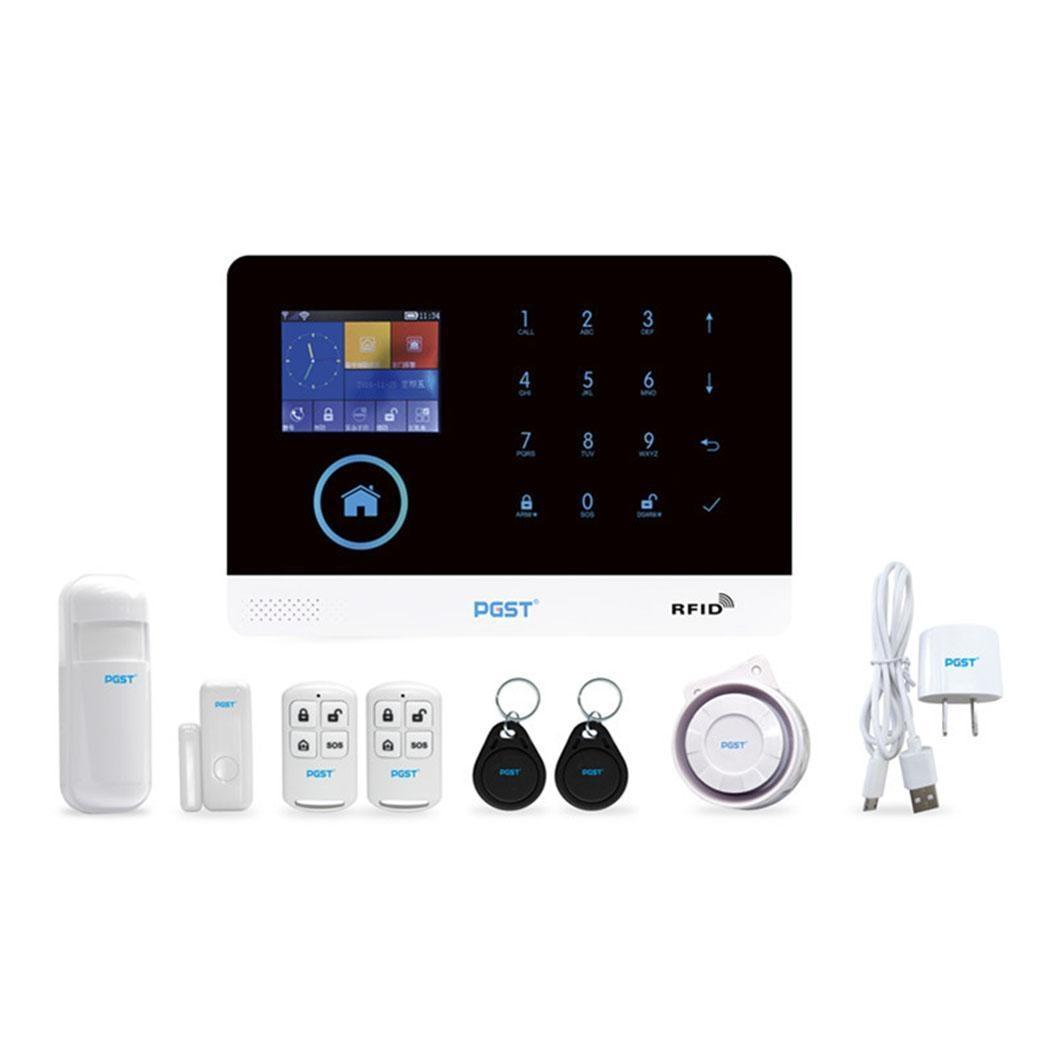 WiFi Wireless Intelligent Alarm System GSM 5 groups 90% GSM+WiFi Anti-burglar EU, US, UK 5V 100pcs Alarm 200WiFi Wireless Intelligent Alarm System GSM 5 groups 90% GSM+WiFi Anti-burglar EU, US, UK 5V 100pcs Alarm 200