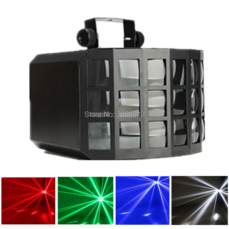 50W Three LED Layers Butterfly Light ,DJ Disco Lighting ,RGBW LED Beam Effect Stage Light For KTV Disco Bar Party Wedding Party