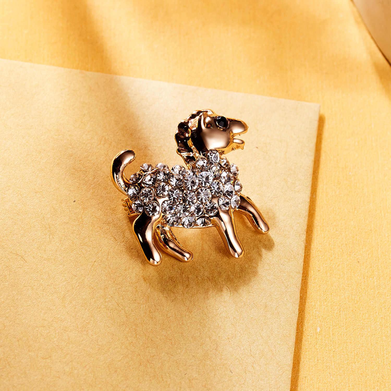 Berlian Imitasi Pin dan Bros Gajah Pony Kupu-kupu Enamel Pin Lencana Topi Aksesoris Ransel Pecinta Perhiasan Hadiah untuk Kekasih