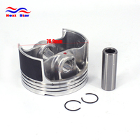 Motorcycle Engine Piston Set For Zongshen ZS177MM 250CC NC250 KAYO T6 BSE J5 RX3 ZS250GY 3 4 Valves Parts