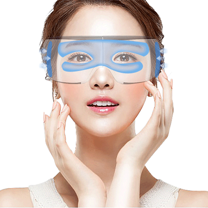 Smart Bluetooth Music Eye Massager Air Pressure Hot Compress Dark Circles Remove Magnetic Far-infrared Protect Eyesight Eye Care