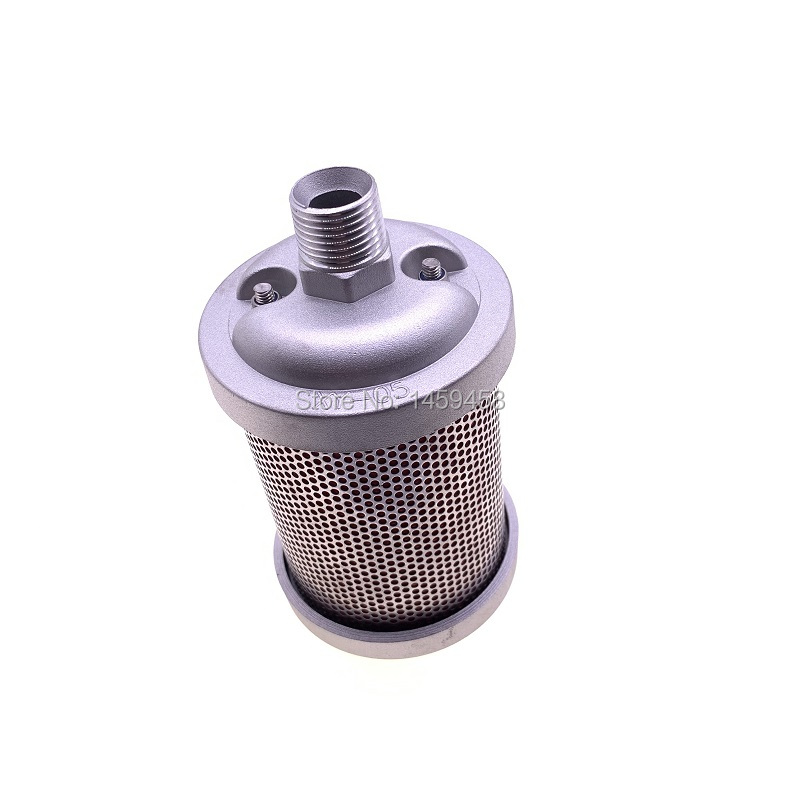 Free shipping 2pcs/lot 1/2 XY 05 DN15 industrial exhaust filter silencer muffler for adsorption dryer air compressor
