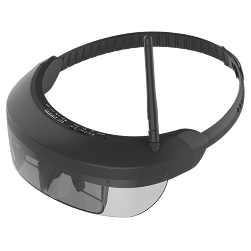 Wireless FPV Goggles 3D Video Glasses Vision-730S with 5.8G 40CH 98 inch Display Private Virtual Theater for FPV QuadcopterWireless FPV Goggles 3D Video Glasses Vision-730S with 5.8G 40CH 98 inch Display Private Virtual Theater for FPV Quadcopter